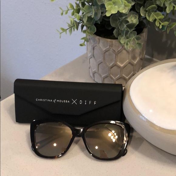 f71973b2d91 DIFF sunglasses. Christina Moussa style